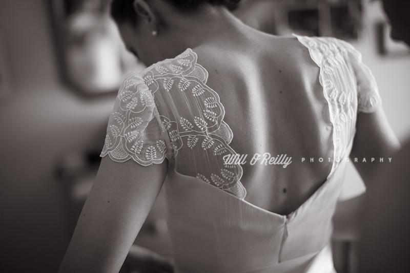 Wedding Photographer Getting Ready