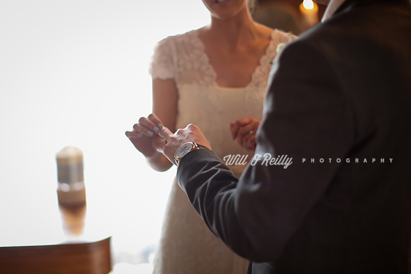 Wedding Photography Ring Exchange